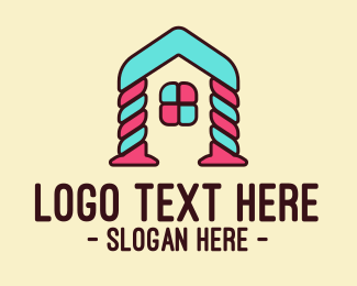 Candy - Candy Arch House logo design