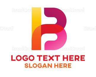 Barcelona - Abstract Bold Letter B logo design