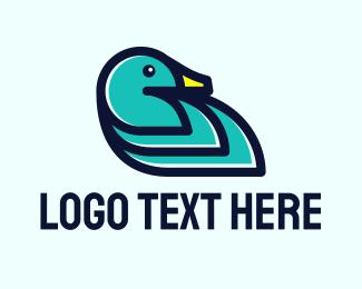 Duck - Wild Duck Livestock logo design