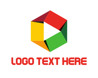 Hexagon - Hexagonal Media logo design