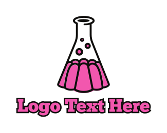 Lab - Jelly Lab logo design