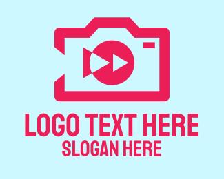 Photo Editing - Simple Video Camera logo design