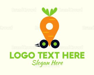 Carrot - Carrot Car logo design