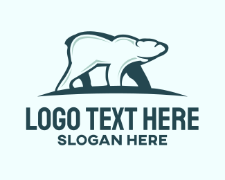 Cold - Polar Bear  logo design