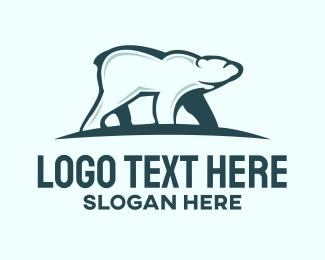 Beast - Polar Bear  logo design