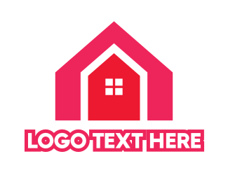 Red House - Red House Shape logo design