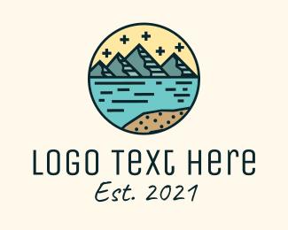 Mountaineering Club - Circle Mountain Adventure  logo design