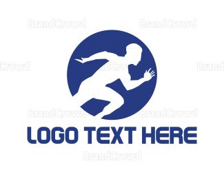 Cross Country - Runner Athlete logo design
