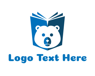 Notebook - Bear Book logo design