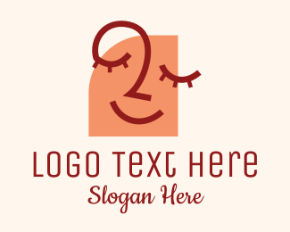Facial - Happy Facial Treatment  logo design