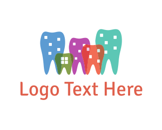 Dental Dental City logo design