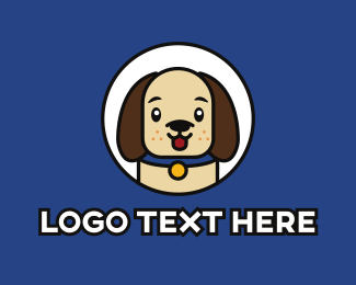 Puppy - Cute Puppy  logo design