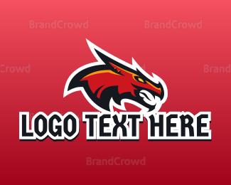 Basketball Team - Dragon Esports Gaming Mascot logo design