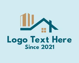 Home Property - Urban Housing Contractor logo design