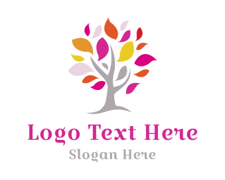 Ecology - Spring Tree logo design
