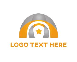Arch - Arch & Star logo design