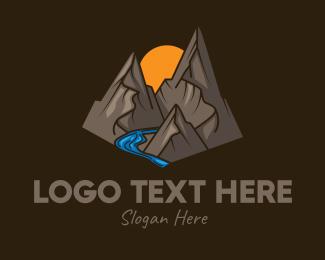 Vintage - Rustic Outdoor Mountain logo design