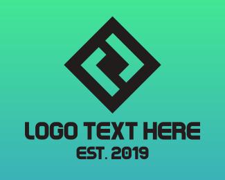 Square - Square Double L logo design