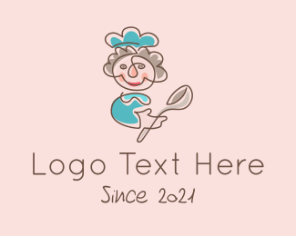 Restaurant - Cooking Mother logo design