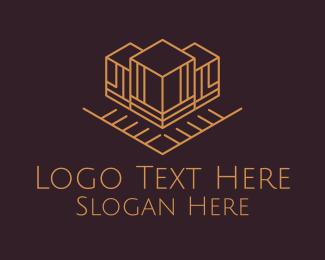 Architecture - Architectural Building logo design