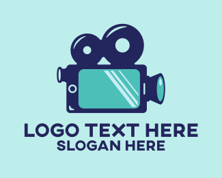Telephone - Mobile Smartphone Video Film logo design