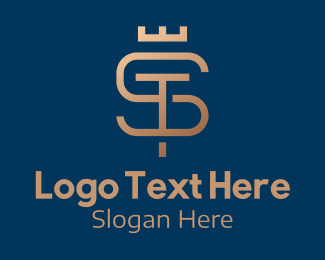 """Corporate S & T Monogram"" by Alexxx"