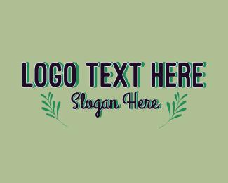 Word - Leaf Environmental Wordmark logo design
