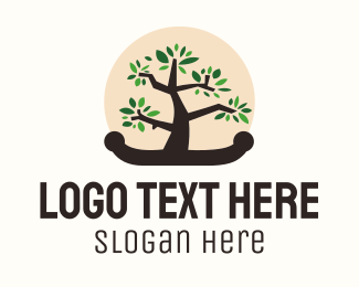 Tree - Bonsai Tree logo design