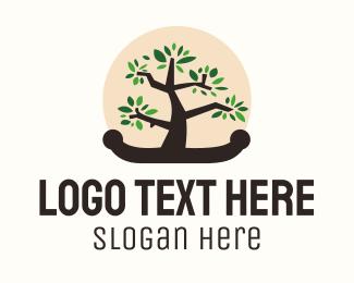 Bonsai - Bonsai Tree logo design