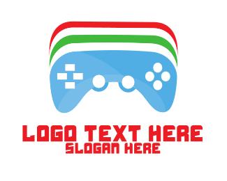 Console - Color Games logo design