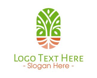 Wellness - Organic Wellness Emblem logo design