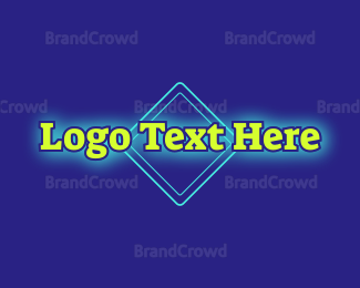 Traditional - Traditional Neon Green logo design