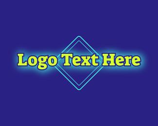 Night Club - Bright Neon Wordmark logo design