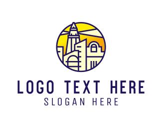 Seaside - Lighthouse City logo design