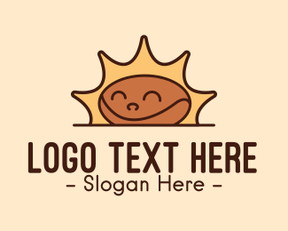 Morning - Morning Coffee Bean logo design