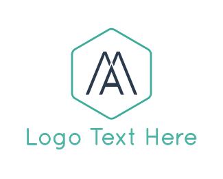Lettermark - Modern Letter A logo design