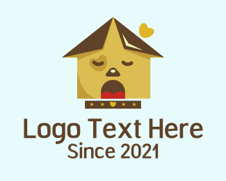 Pet Care - Dog house logo design