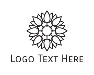 Delicatessen - Tulip Bouquet logo design
