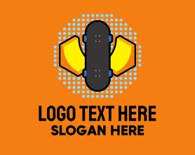Retro Skater Park Logo