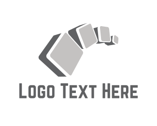 Cement - Concrete Cubes logo design
