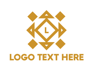 Jeweler - Abstract Cube Lettermark logo design