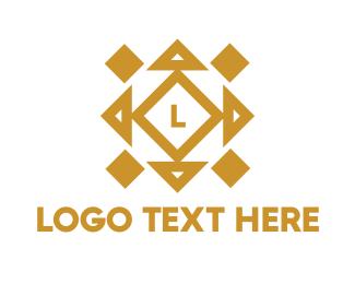 Lettermark - Abstract Cube Lettermark logo design