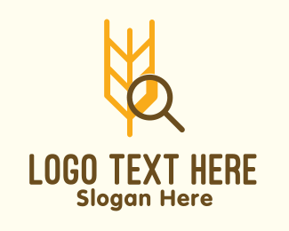 Research - Wheat Research logo design