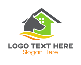 Animal Clinic - Guard Dog House logo design