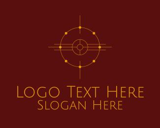 Undercover - Minimalist Boho Star logo design