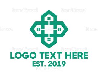 Aid - House Aid logo design
