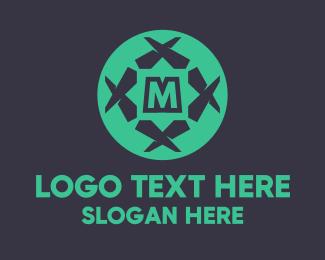 Simple -  Abstract Star Lettermark logo design