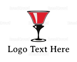 Wine - Wine Glass logo design