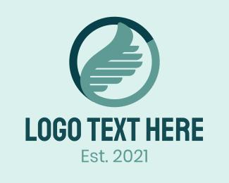 Corporate - Corporate Winged  Ring  logo design