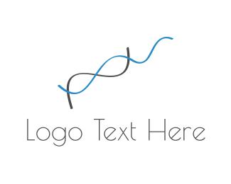 Wire - Genetic Chain logo design